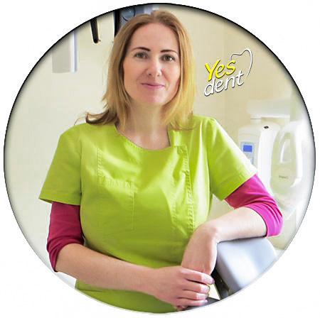 Małgorzata Wojdyła Turek stomatolog Yes Dent